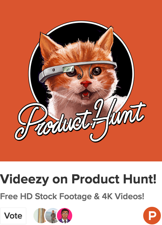 We're on Product Hunt!