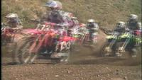 Motorcross Racing in Slow Motion
