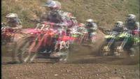 Motorcross Racing in Slow Motion