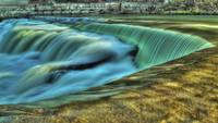 Timelapse of Waterfalls HDR Footage Stock Video