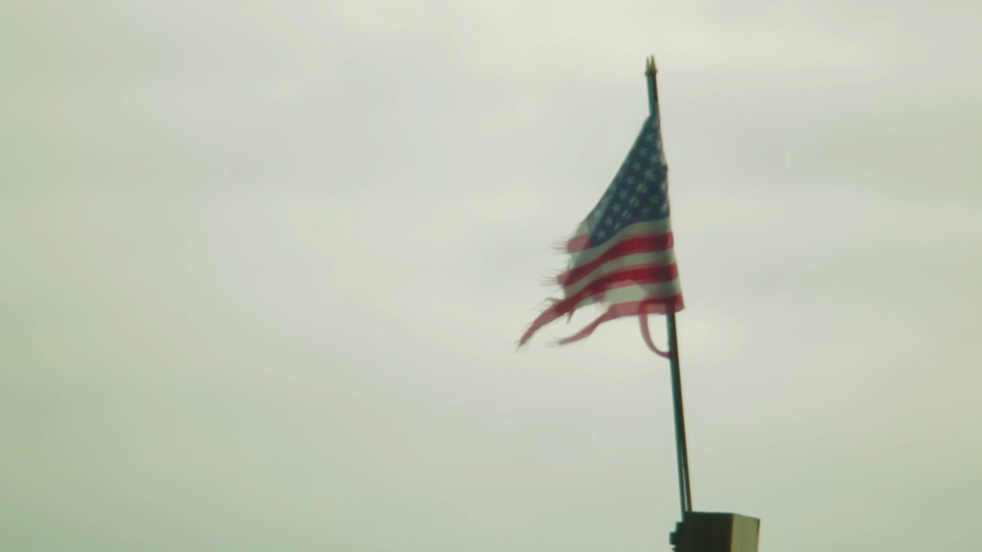 4ebf8e61236 Torn Flag Stock Video in HD