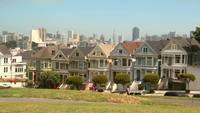 San Francisco Townhouses Stock Video in HD