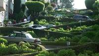Gratis Lombard Street Stock Video i HD
