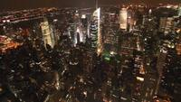 New York Stock Video in HD Bird Eye View
