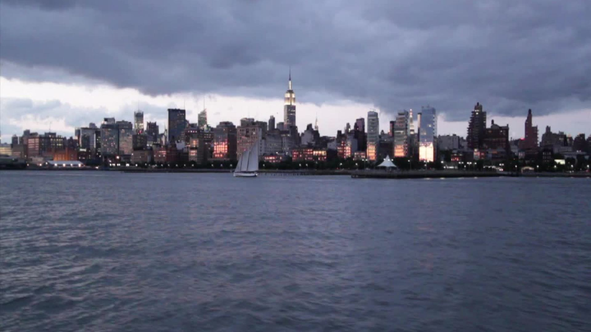 New York City Skyline Free Hd Stock Video Footage Videezycom