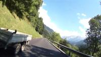 Route de Pillon Scenic Road Stock Video