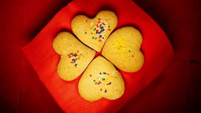 Valentine Heart Cookies Free HD Video
