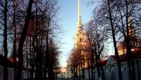 Peter and Paul Cathedral Royalty Free HD Stock Footage