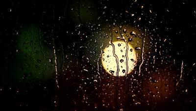 Raining on Window Free Stock Footage