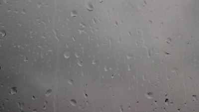 Rain on a Window HD Stock Video