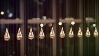 Kinetic Rain HD Stock Video