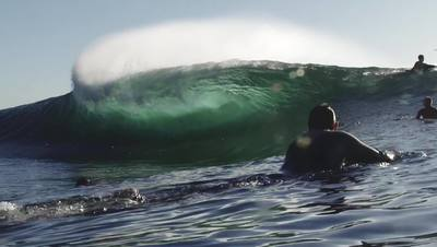 Breaking Wave Close-up HD Stock Footage