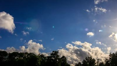 Clouds on Blue Sky HD Stock Video