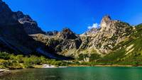Lago De Montaña Lapso De Tiempo Video Gratis