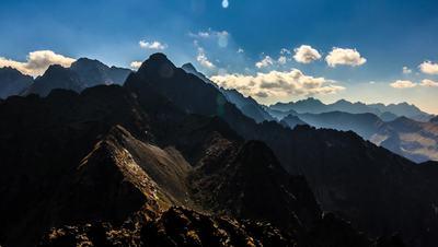 Mountain Peak Time Lapse Free Stock Footage