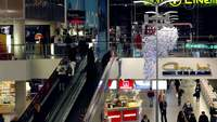 Shopping Mall Time Lapse Free Footage