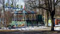 Vintage Playground HD Stock Footage