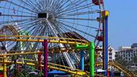 Moving Ferris Wheel Free HD Video