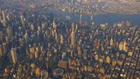 Luchtfoto van New York City 4K