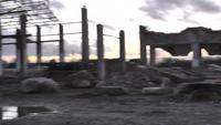 Ruines de l'industrie Stock Video II