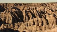 Badlands Översikt Gratis Stock Footage