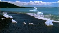Glacier Calving Royalty Free HD Stock Footage