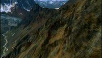 Grandes montañas desde arriba HD Stock Video