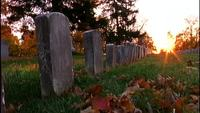 Tombstones Close-up Free Stock Footage