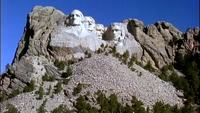 Mount Rushmore Stock Footage Libres de Droits
