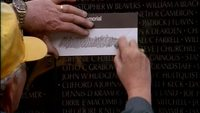 A Day of Remembrance at the Vietnam Veterans Wall Free Footage