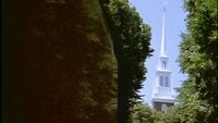 Church and Graveyard Free Stock Footage