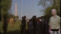 Vietnam Veteranen Memorial Time Lapse Royalty-vrije Stock Video