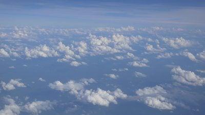 Aerial Footage of Cloudy Sky 4K