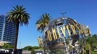 Universele studio's globe 4k