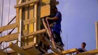Close up of a construction worker 4K stock video
