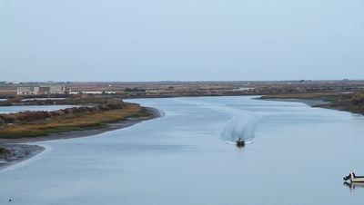 Daybreak Fishing Boat City Island