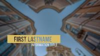 Plantilla Elegante Clean Lower Thirds 4K After Effects