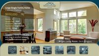 Blue Real Estate Presentation Slideshow After Effects Template