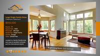 Modern Gray Stripe Real Estate After Effects Template Presentation