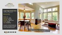 Modern White Flip Real Estate Presentatie After Effects Template