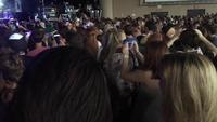 A Large Crowd Films a Concert on Smart Phones 4K