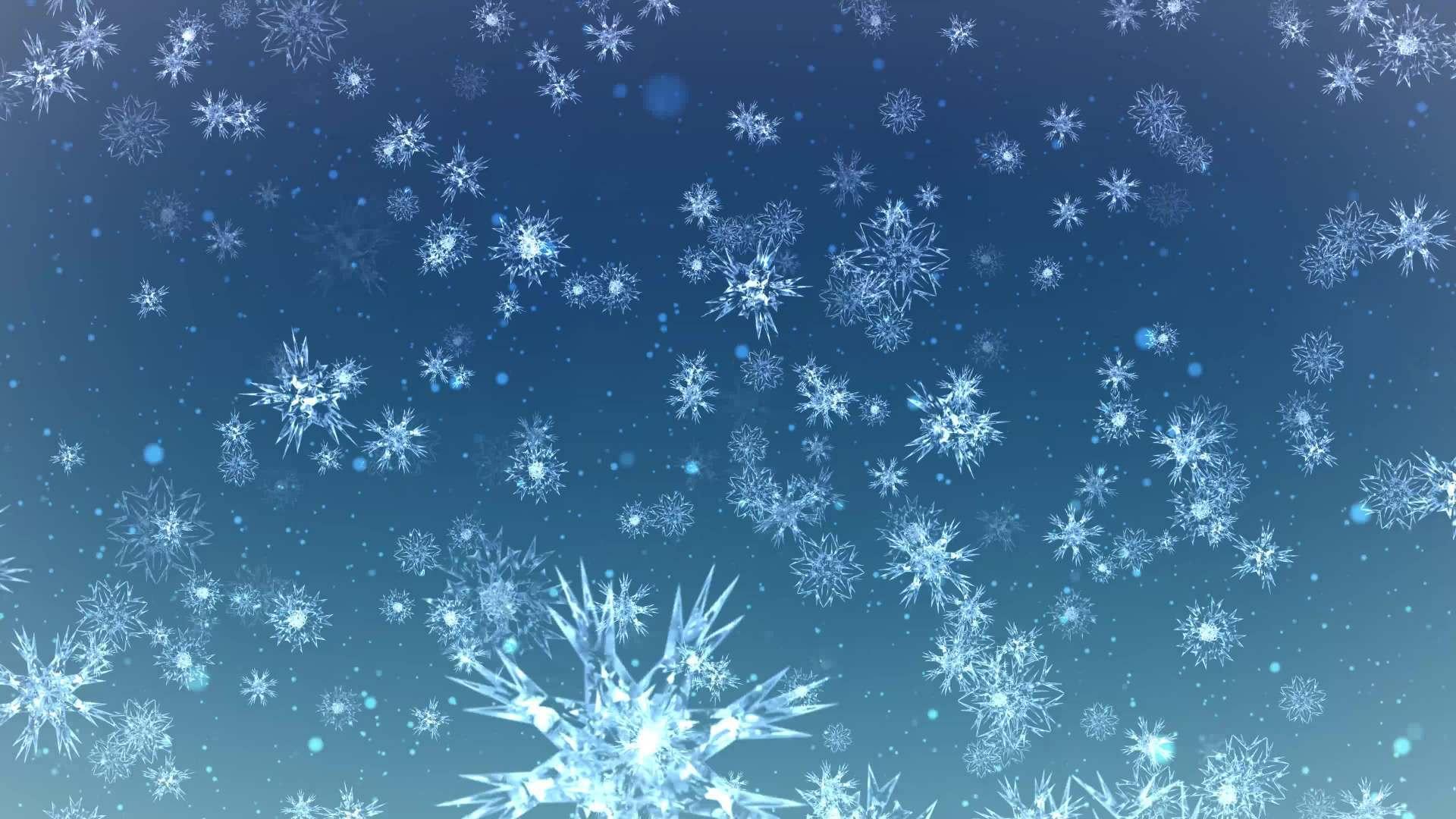Schneeflocken Falling Motion Hintergrund 4K - Kostenlose HD-Clips ...