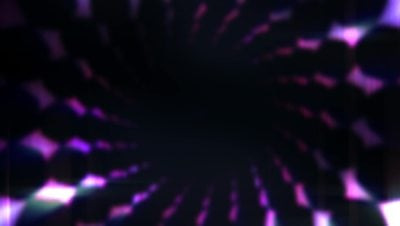 Dark Tunnel 4K Motion Background Loop