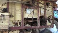 Old Threshing Machine Stock Video