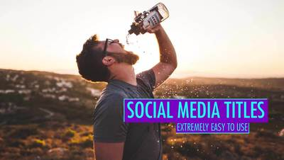 Blur Social Media Titles