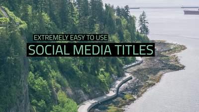 Dark Social Media Titles