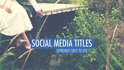 Echo Social Media Titles