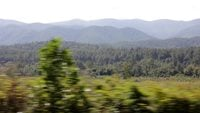 Driving-by-applachian-mountains