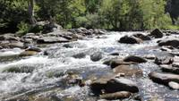 Wasser Rapids in Creek
