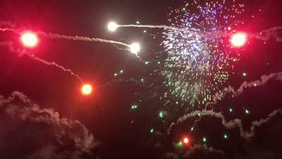 Fireworks Grand Finale in 4K